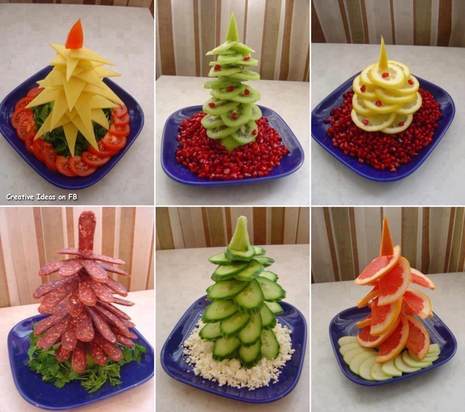 Idea: Arbolitos de Navidad comestibles súper express!!! :) - Receta ...