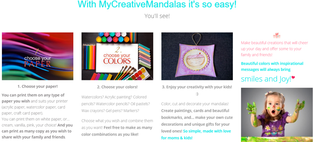 how MyCreativeMandalas works - image for My creative mandalas moms & kids creative kids giveaway | www.sahmplus.com