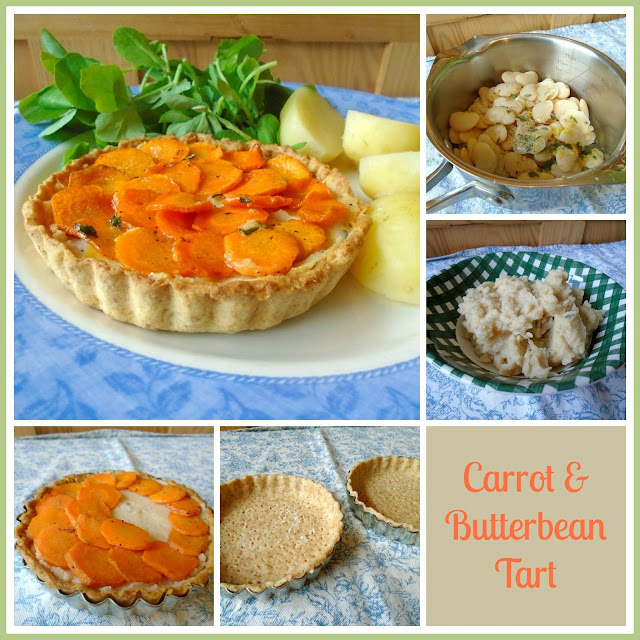 Carrot & Butterbean Tartlets