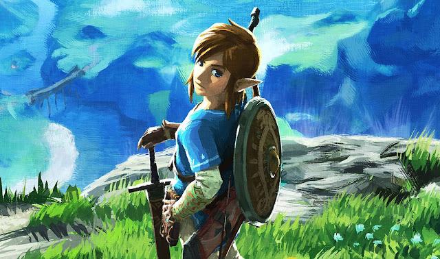 Podremos equipar a Link con la túnica verde en Breath Of The Wild