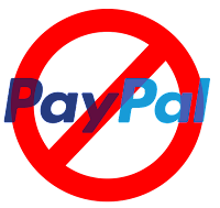 Not Accepting PayPal anymore