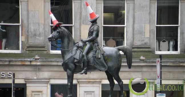 Duke of Wellington Statue, Skotlandia