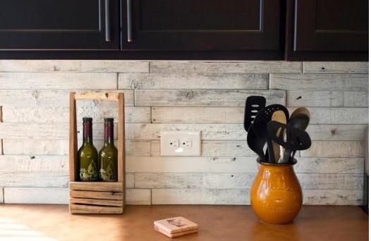 Loving Reclaimed Barn Wood Tiles