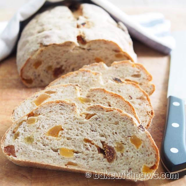 Rye Fruit Loaf