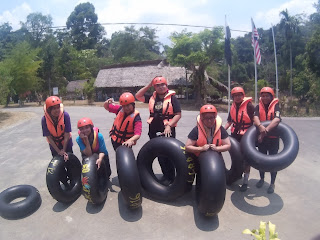 Water Tubing @ Lata Lembik Recreation Park