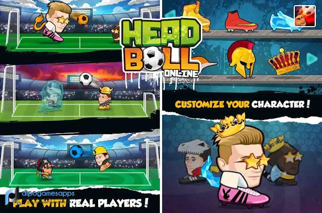 Download Online Head Ball MOD APK Terbaru
