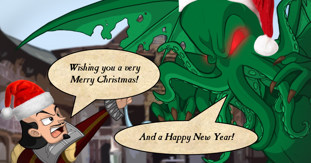 Jonathan Green Author Have Yourself A Very Cthulhu Christmas
