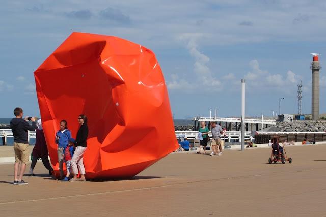 Oostende: kunst op de dijk