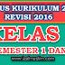 Silabus Tematik Terpadu Kelas 2 Semester 1 dan 2 Kurikulum 2013 Revisi 2016