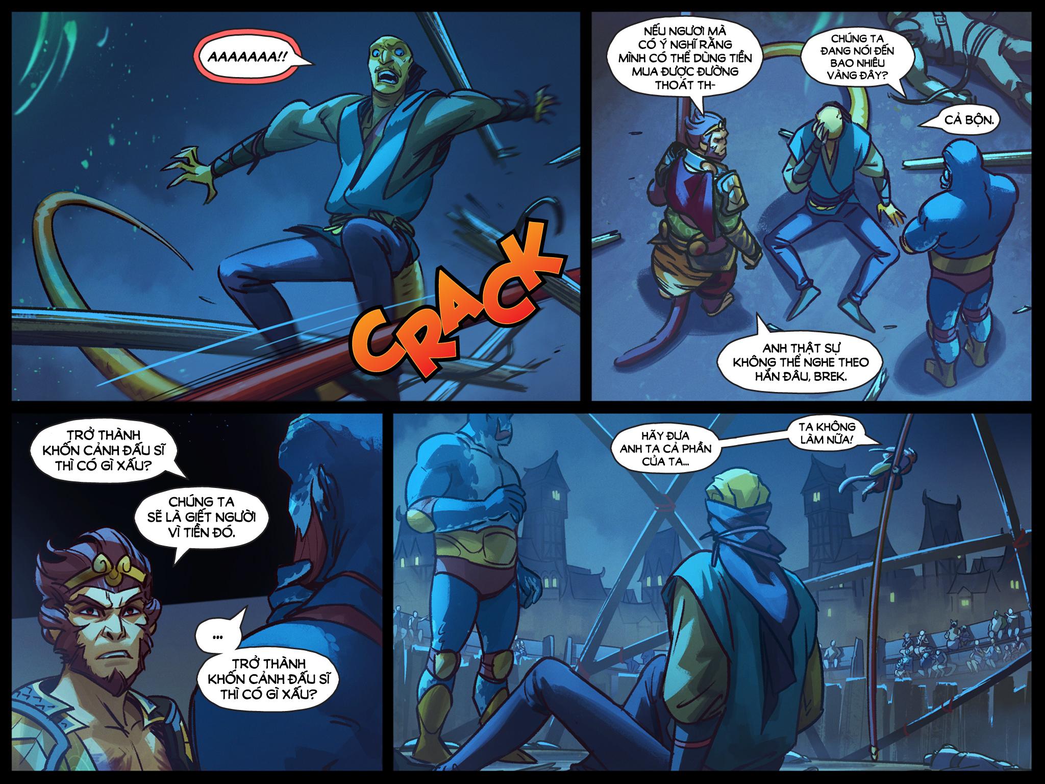 DotA 2 Comic