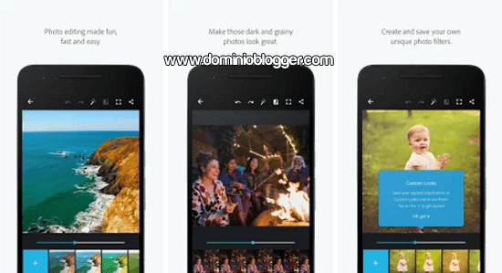 Adobe Photoshop Express para Andriod