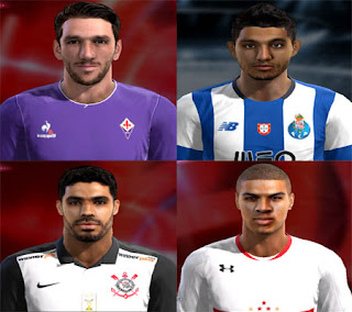 Mix Facepack 2016 Pes 2013 By FB