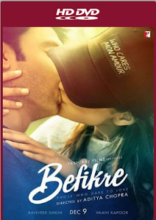 Befikre 2016 Hindi 720p BRRip 800MB