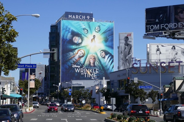 Giant A Wrinkle in Time billboard