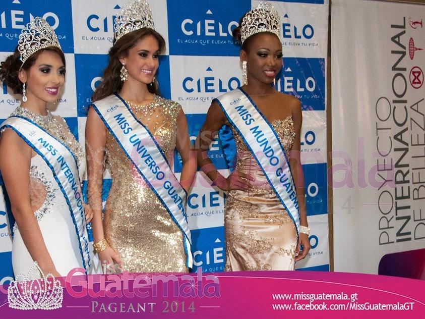 Miss Internacional Guatemala 2014 Miss World Guatemala 2014