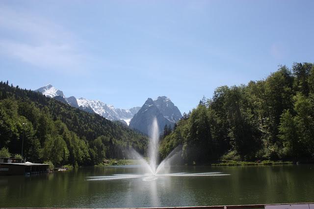 #Riessersee #Garmisch #Bayern #Bavaria #Hotel #Badesee