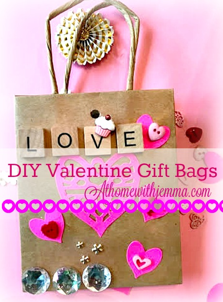 DIY Valentine Gift Bags