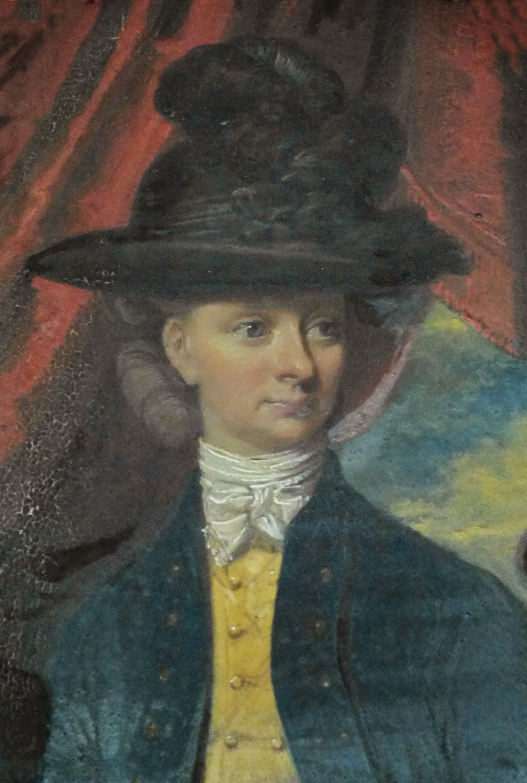 "Anne ""Nanny"" Robinson  by John Downman (1780)"