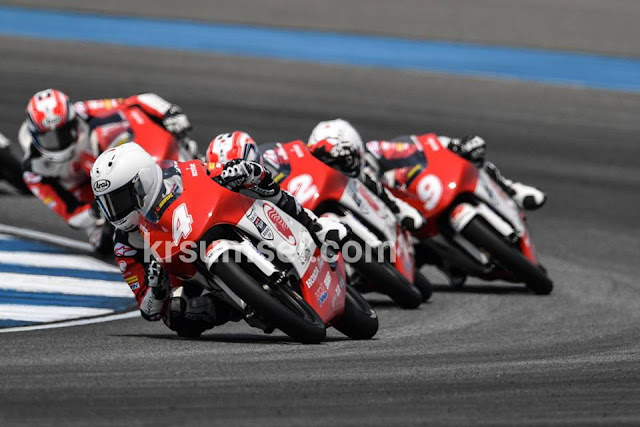 Astra Honda Racing Team Berbagi Panggung dengan Pebalap MotoGP