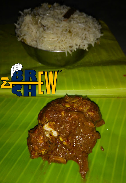 Reddamma Mess Tirupati Review,Biryani, brain fry, banana leaf meals