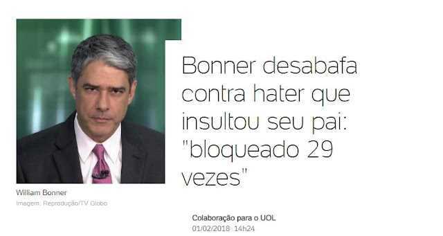 bonner e os haters