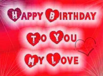 Happy Birthday Wishes Love Quotes My I