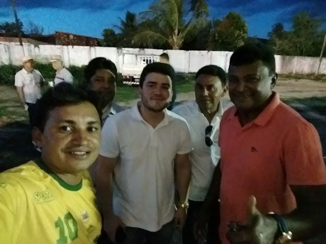Presidente do Atlético de São José da Tapera se encontra com o presidente da F.A.F para tratar do ingresso do clube na entidade máxima do futebol Alagoano