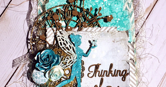 Thinking of you Tag for Creative Embellishments