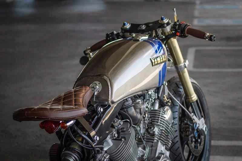 Generation Bobber Yamaha Xv 750 Virago Umbau Von Spin