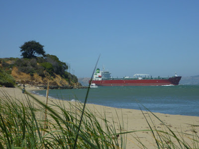 Quarry Beach on Angel Island, California