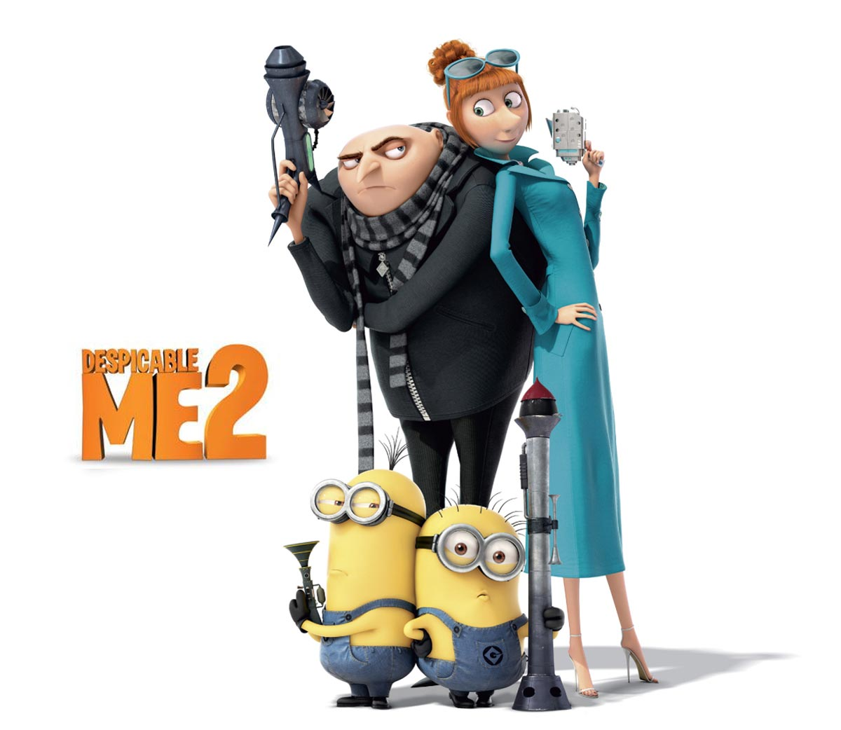 Despicable Me 2 2013 full animated movie watch online ...