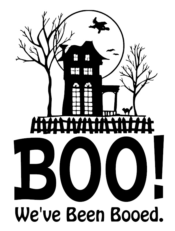 Try This! We\u0027ve Been Booed Printable