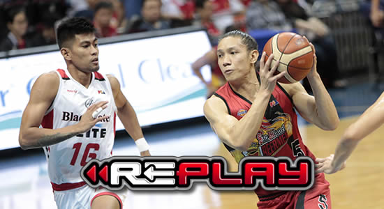 Video Playlist: San Miguel vs Blackwater Elite game replay 2018 PBA Governors' Cup