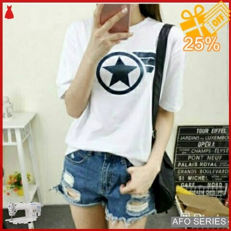 AFO467 Model Fashion Tshirt Star Modis Murah BMGShop