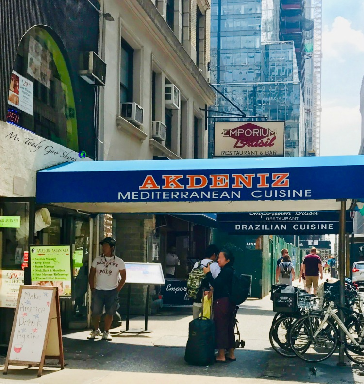 Akdeniz- One of  50 Places To Eat Near Tiimes Square - From Cheap To Chic!   Ms. Toody Goo Shoes