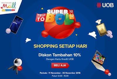 Trip to Superbol Shopping Setiap Hari UOB - MatahariMall