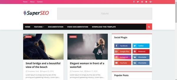 mobile-friendly-bloggger-templates-free