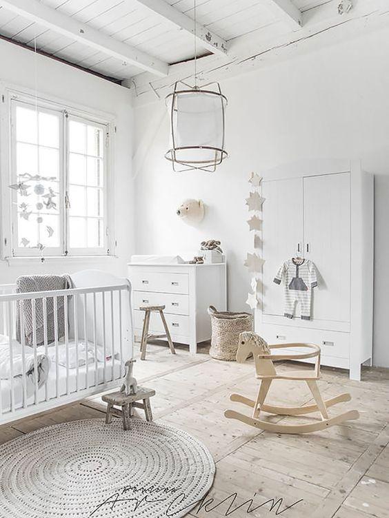 La habitación del bebé debe tener ventana con luz natural