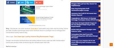 Tutorial Cara Mengganti Tampilan Blog, Tampilan Blog