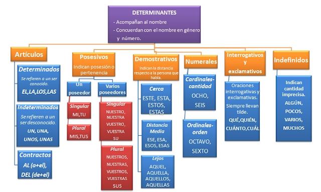Resultado de imagen de los determinantes esquema