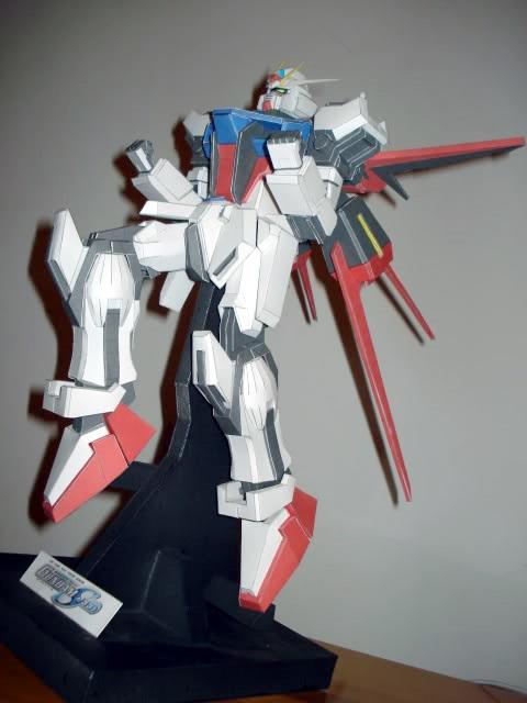 6a925a55ea218 Papercraft - Modelos en papel - CBA  Mobile Suite Gundam - Papercraft varios