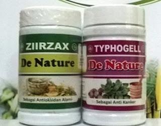 Typhogell dan Ziirzax Obat Kista Ovarium de Nature