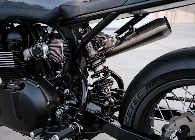 Triumph Scrambler By JW Designs Hell Kustom