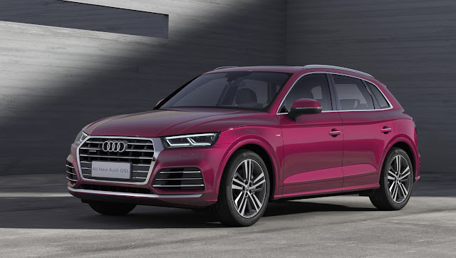The Audi Q5L is Audi's first long-wheelbase SUV, and is an exclusive product for China