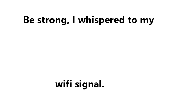 wifi jokes one liners
