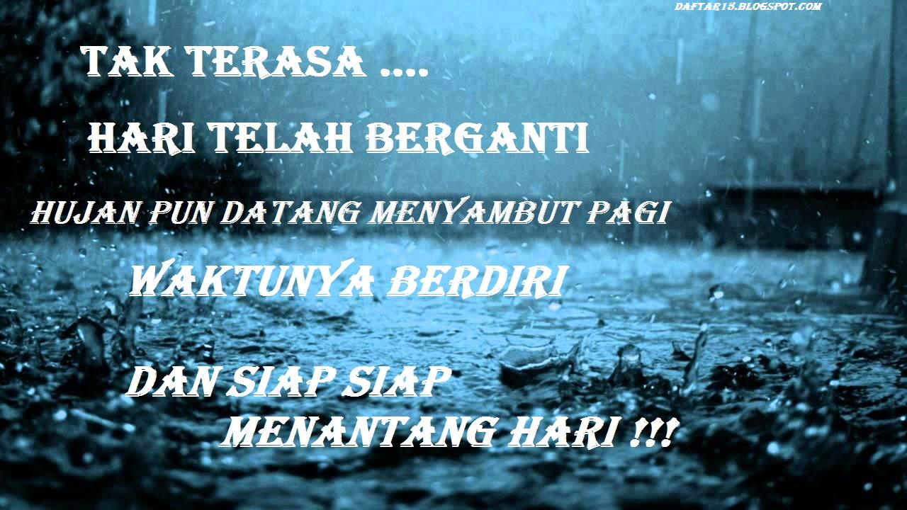 Kata Kata Bijak Tentang Hujan Dan Rindu