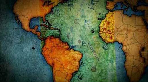 Mapa%2Bde%2B500%2Ba%C3%B1os%2Bde%2Bantig%C3%BCedad - MAPA DE 500 AÑOS DE ANTIGÜEDAD HACE PEDAZOS LA HISTORIA OFICIAL DE LA RAZA HUMANA