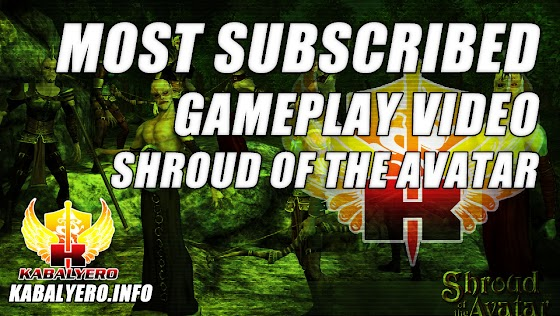 Most Subscribed Gameplay Video ★ Shroud of the Avatar