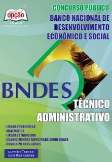 apostila preparatório para concurso BNDES