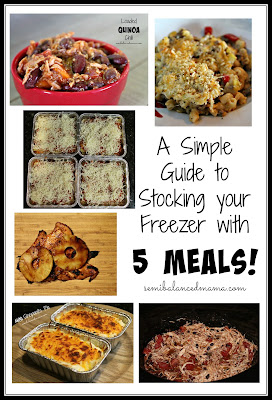 Freezer Friendly Meals